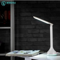3W LED Desk Lamp Touch Switch Dimmable Book Light USB Charging table Reading Lamp portable Folding lamp