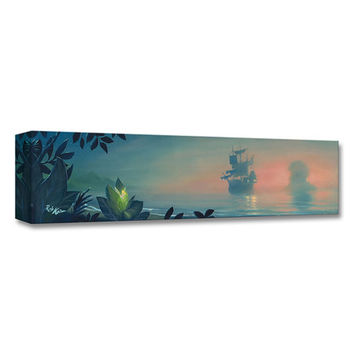 Peter Pan Never Land Lagoon Limited Edition Wrapped Canvas