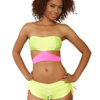 Neon Short Set | Rave & EDM Clothes