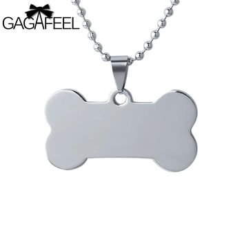 Unisex-Stainless Steel-Dog Tag -Pendant Necklaces- Laser Engraving/Customization Available.