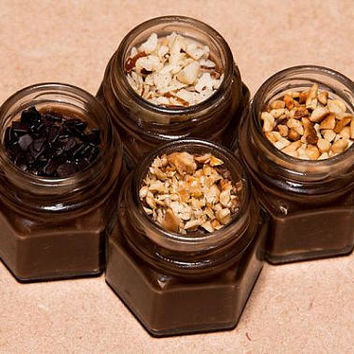 2 Oz Jar - Gourmet Spoonable Brigadeiro, Gift box Jar, party favor, wedding favor, birthday party, baby shower,bridal shower, party box,