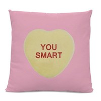 Khaled Candy Heart Valentine's Day Pillow