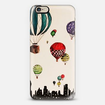 Hot Air Balloons Over NYC iPhone 6 case by Talula Christian | Casetify