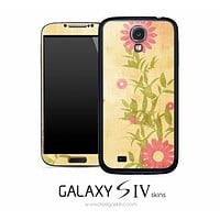 Sunny Pink Flower Skin for the Galaxy S4