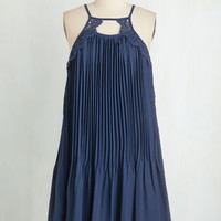 Mid-length Spaghetti Straps Shift Give it a Twirl Dress by ModCloth