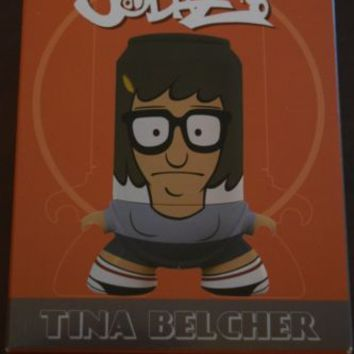 New In Box Nerd Block Exclusive Bob's Burgers Tina Belcher SodaZ Cartoon Network