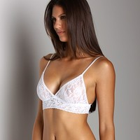 Hanky Panky Original Bralette White 112 at Largo Drive Underwear & Swimwear
