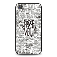 Pierce The Veil Song Lyric iPhone 4 | 4S case