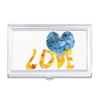 Ice - Warming Love Business Card Case
