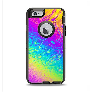The Neon Color Fushion V2 Apple iPhone 6 Otterbox Defender Case Skin Set