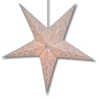 Purity Swirl Paper Star Lantern