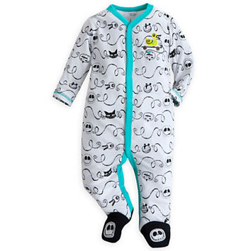 Jack Skellington Stretchie Sleeper for Baby