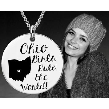Ohio Girls Necklace | Ohio State