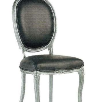 Louis XV Ovale Side Chair