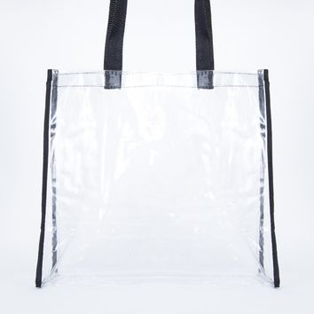 Summer Ready Clear Tote Bag