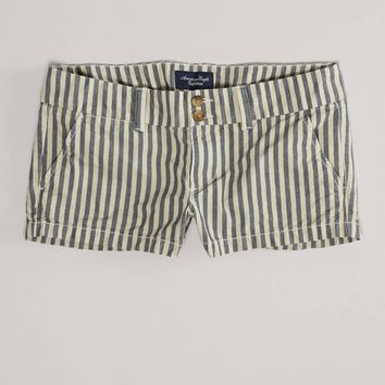 AE Striped Favorite Shortie | American Eagle Outfitters