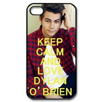 Custombox Dylan O' Brien Iphone 4/4s Case Plastic Hard Phone Case for Iphone 4/4s-iPhone 4-DF02782