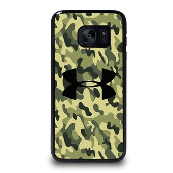 CAMO BAPE UNDER ARMOUR Samsung Galaxy S7 Edge Case Cover