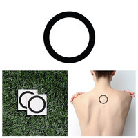 Roundabout - Temporary Tattoo (Set of 2)