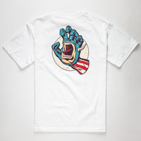 SANTA CRUZ x Marvel Captain America Hand Mens T-Shirt | Graphic Tees