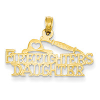 14k Firefighter's Daughter Pendant K923