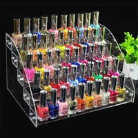 Makeup Cosmetic 5 Tiers Clear Acrylic Organizer