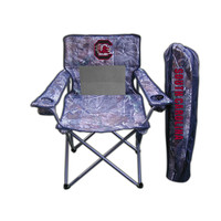 South Carolina Gamecocks NCAA Ultimate Real Tree Camo Adult Tailgate Chair