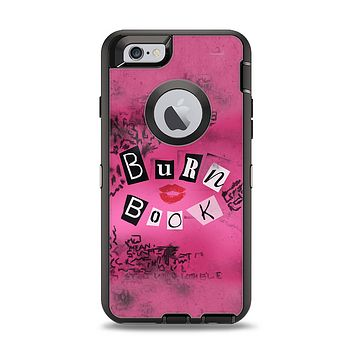 The Burn Book Pink Apple iPhone 6 Otterbox Defender Case Skin Set