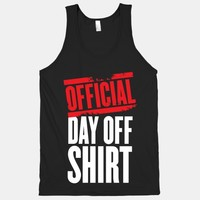 Official Day Off Shirt | HUMAN