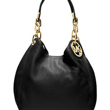 MICHAEL Michael Kors Handbag, Fulton Medium Shoulder Bag - Tote Bags - Handbags & Accessories - Macy's