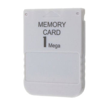 Newest Special Offer White 1MB 1M Memory Save Saver Card For Sony Performance For Playstation One For PS1 PSX Game System
