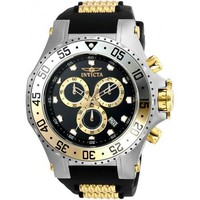 Invicta Men's 21832 Pro Diver Quartz Chronograph Black Dial Watch