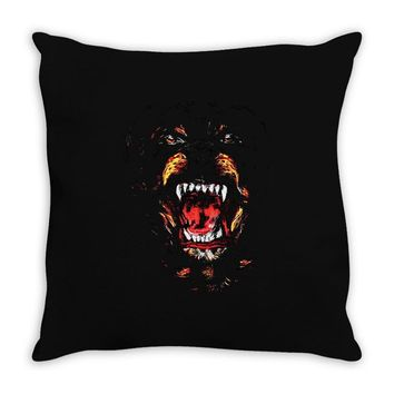 givenchy dog Throw Pillow
