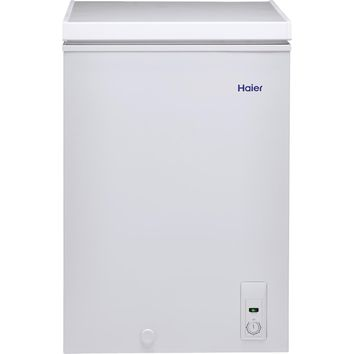 Haier 3.5 cu. ft. Chest Freezer in White-HFC3501ACW - The Home Depot