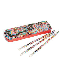 Vera Bradley Pencil Set with Tin in Alpine Floral (13806-340)
