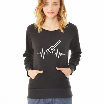 Guitar 7 ladies sweatshirt