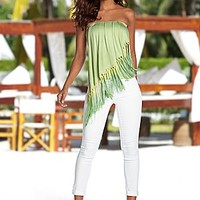 Ombre Fringe Top