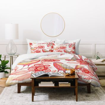 Cori Dantini Sprinkling Sound Duvet Cover