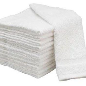 Basic Cotton Economy Hand Towels (15x25 inches)- 2.25 LB/DOZEN