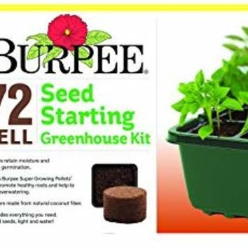 Burpee 72 Cell Seed Starting Kit, One Size