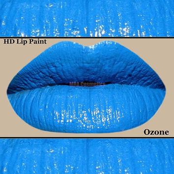 Blue HD Lip Paint- Ozone