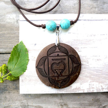Root Chakra Pendant Necklace