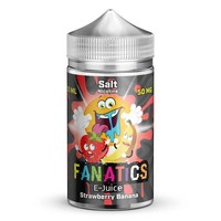 Fanatics Strawberry Banana Salt Nicotine