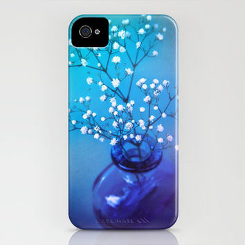 BABY'S BREATH - Still life with flowers and vase iPhone Case by ♕ VIAINA | Society6
