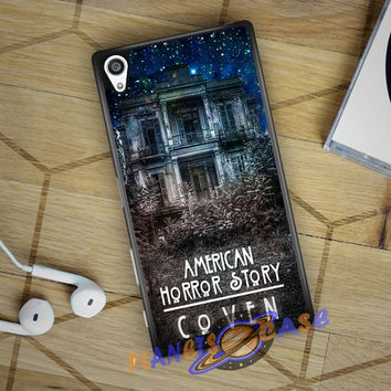 American Horror Story coven In Galaxy Sony Xperia Z5 case Planetscase.com