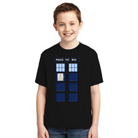 Dr Who Tardis Youth T-shirt