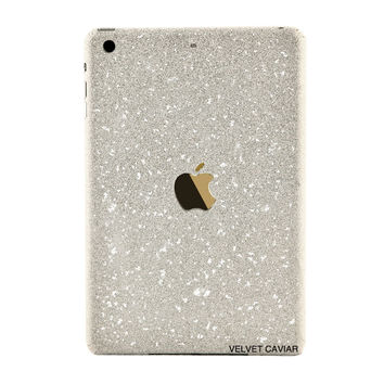 IPAD MINI GLITTER DECAL SILVER