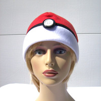 Pokeball hat Pokemon game hat