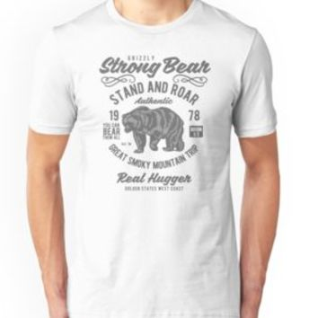 'GRIZZLY BEAR' T-Shirt by Super3
