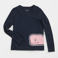 Girls Wrap Around Whale Graphic Tee